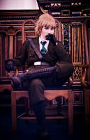 APH - sit in Busby's chair by FlyingGreyson