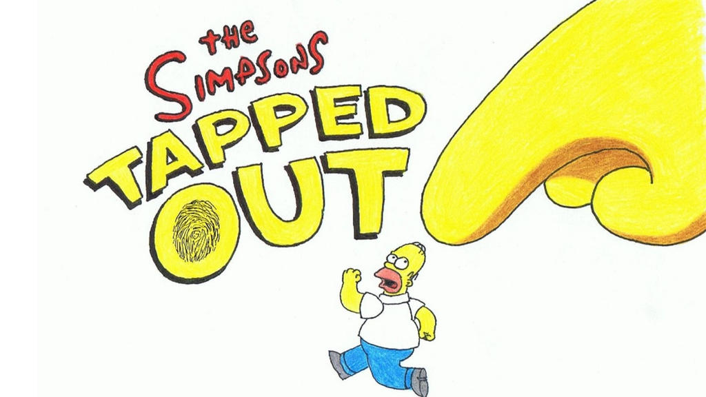 Drawing Simpsons Tapped Out