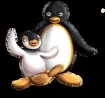 Pingu and Pinga