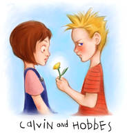 Calvin and Susie by happychild