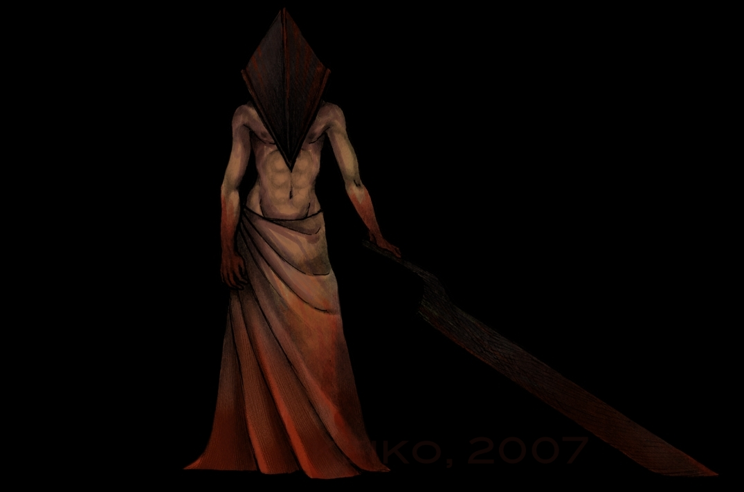Pyramid Head by happychild