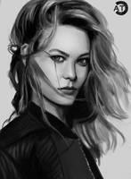 Portrait study by bearcub