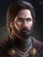 [CM] Male wow portrait by bearcub