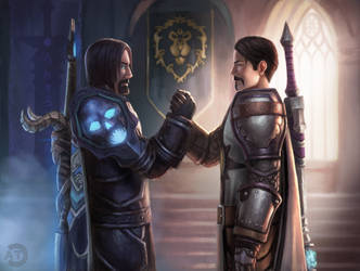 [CM] Death Knight And Paladin by bearcub