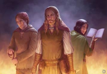 [CM] Fantasy Book illustration
