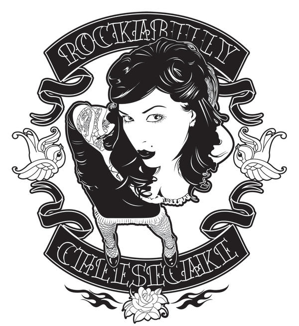 Create A Rockabilly Poster With Vector Set 22: Rockabilly Cheesecake By Satansbrand On DeviantArt