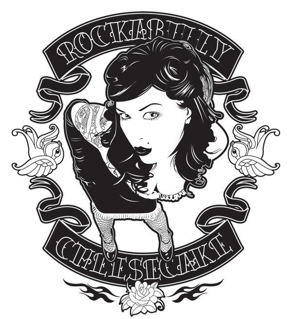 Rockabilly Wallpaper: Rockabilly Cheesecake By Satansbrand On DeviantArt