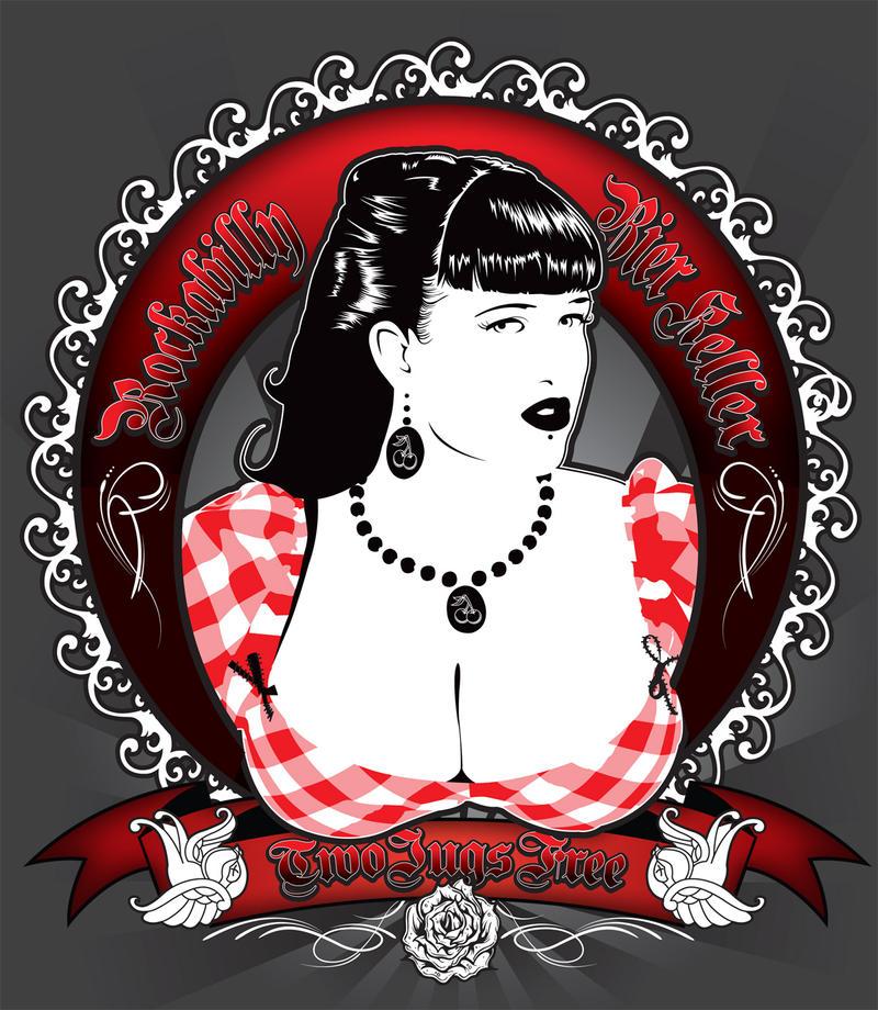 Rockabilly Wallpaper: Rockabilly Bier Keller By Satansbrand On DeviantArt