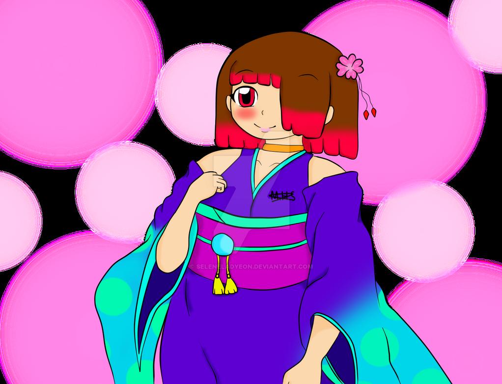 Celes con Kimono. by SeleneLadyEon