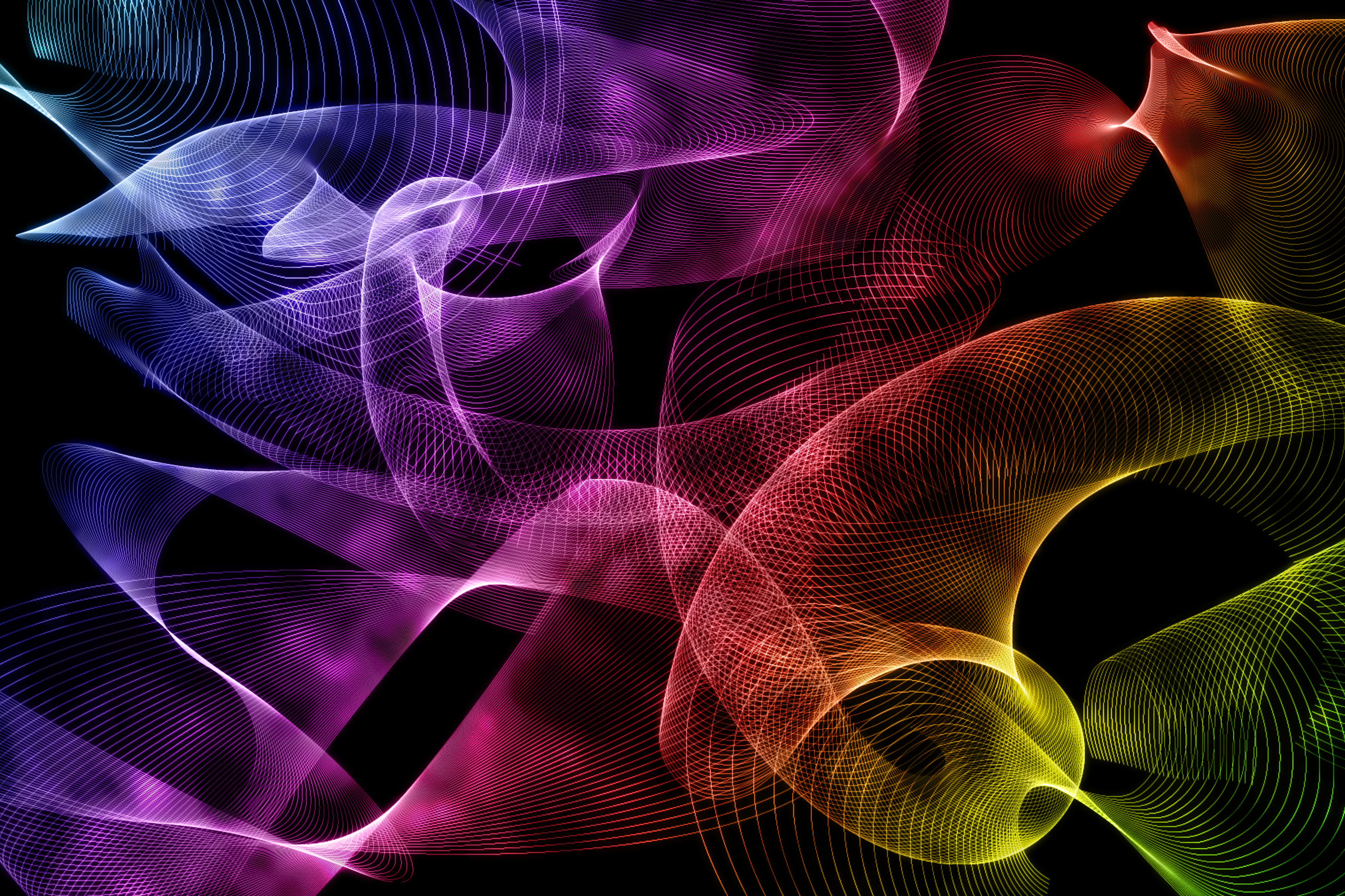 Random abstract by lumenus