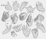 Hands (25-40) by THedbj