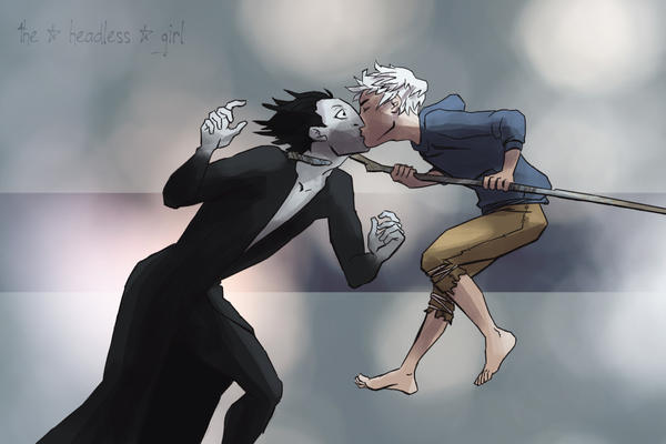 jack frost and pitch black kiss - photo #30