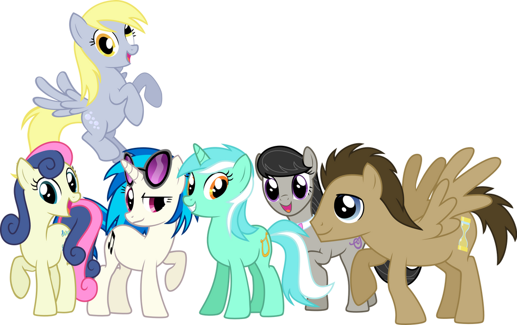 My little pony male characters names