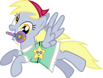 Derpy Butterfly by greendwarf333