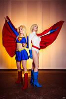 Superheroines by Rinaca-Cosplay