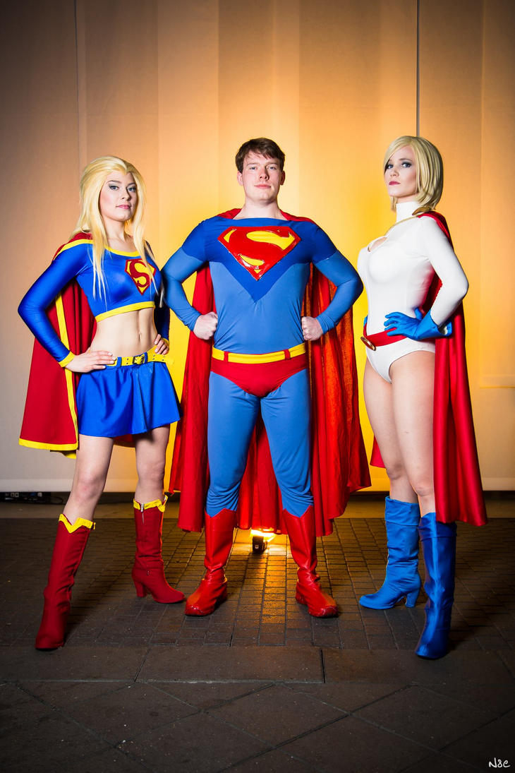 Heroes from Krypton by Rinaca-Cosplay