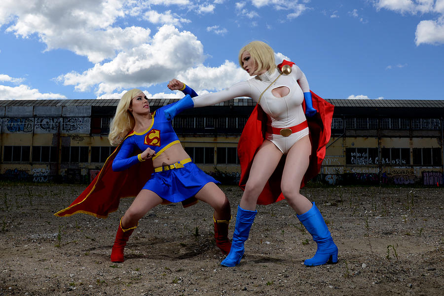 Dodging Punches by Rinaca-Cosplay