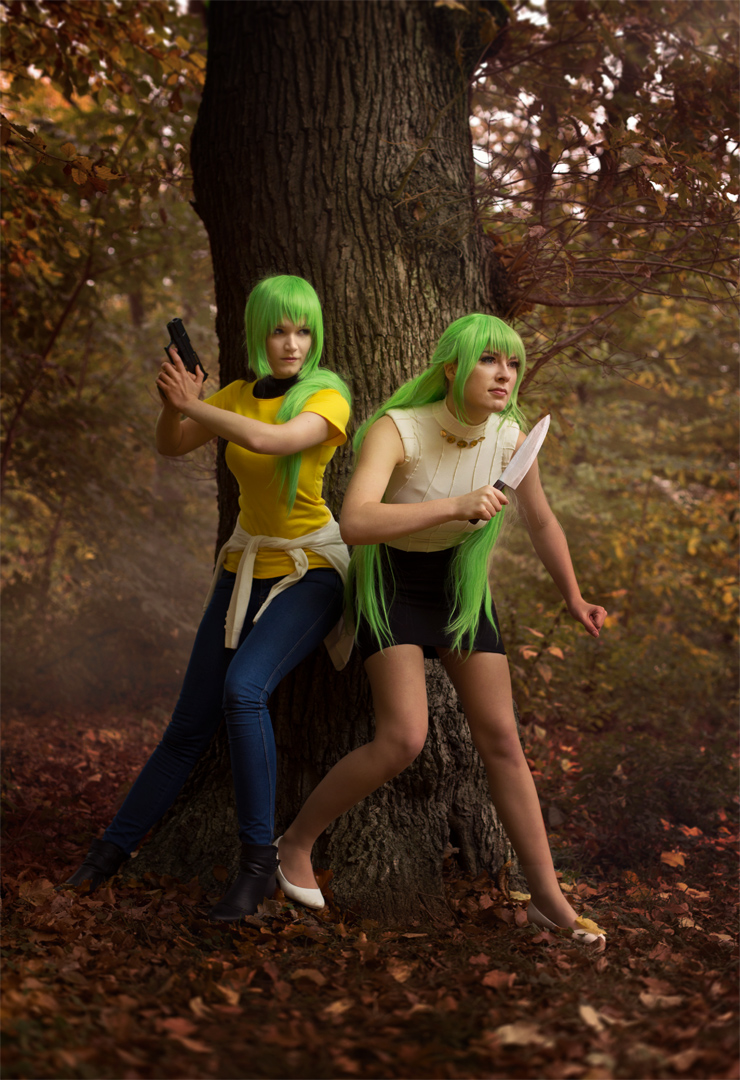 Sonozaki Twins by Rinaca-Cosplay