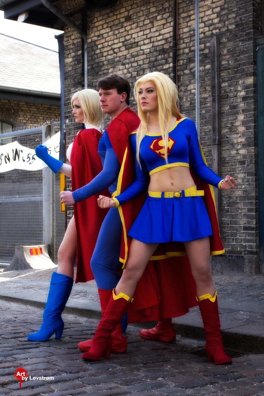 Superheroes Unite by Rinaca-Cosplay