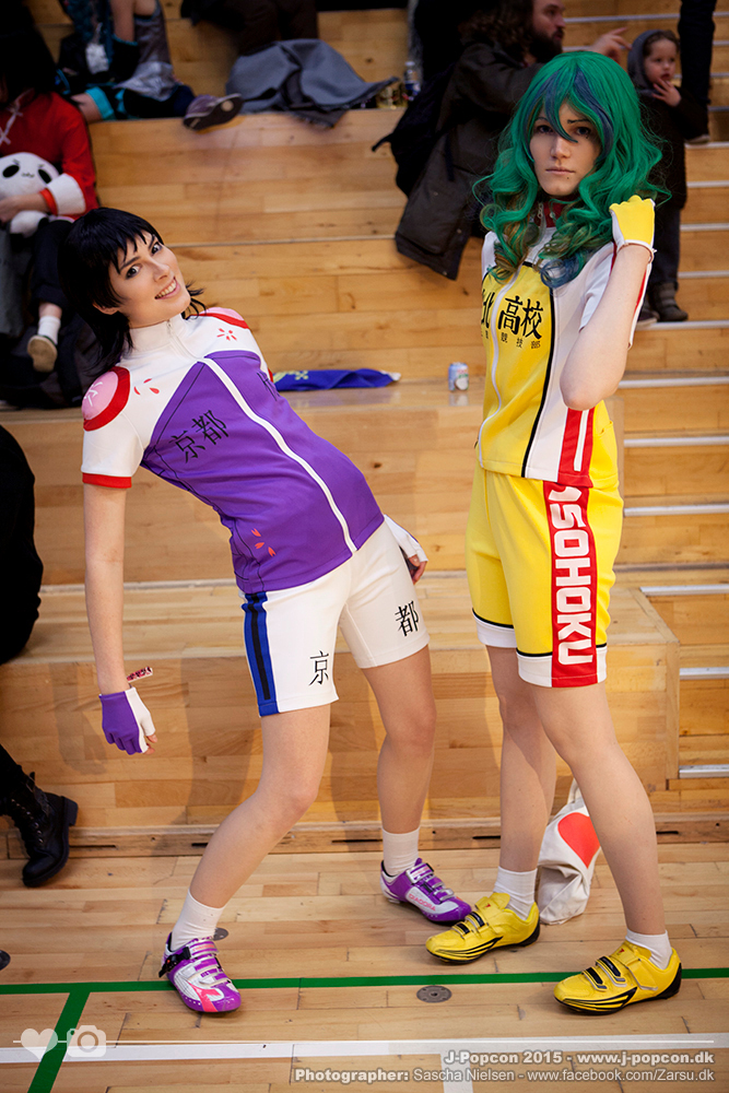 Midousuji and Makishima by Rinaca-Cosplay
