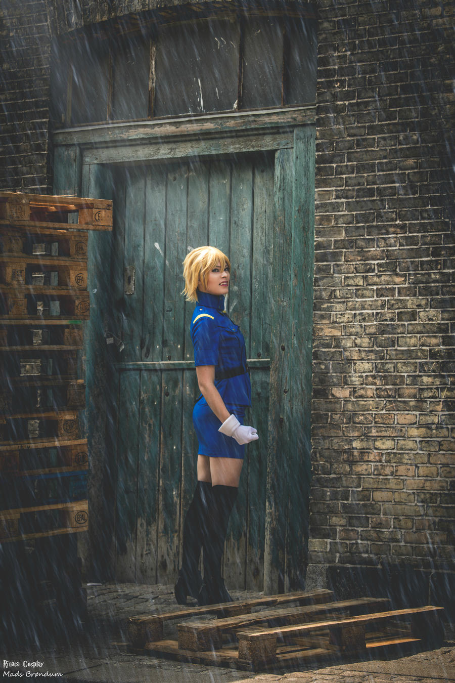 Hell's Gate Arrested by Rinaca-Cosplay