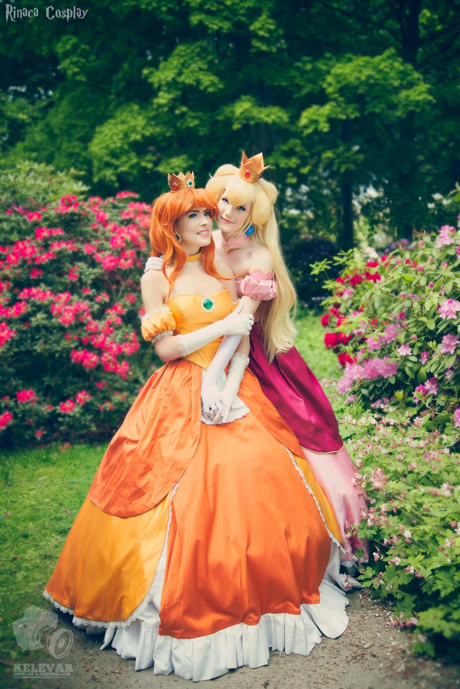 Nintendo Princesses by Rinaca-Cosplay