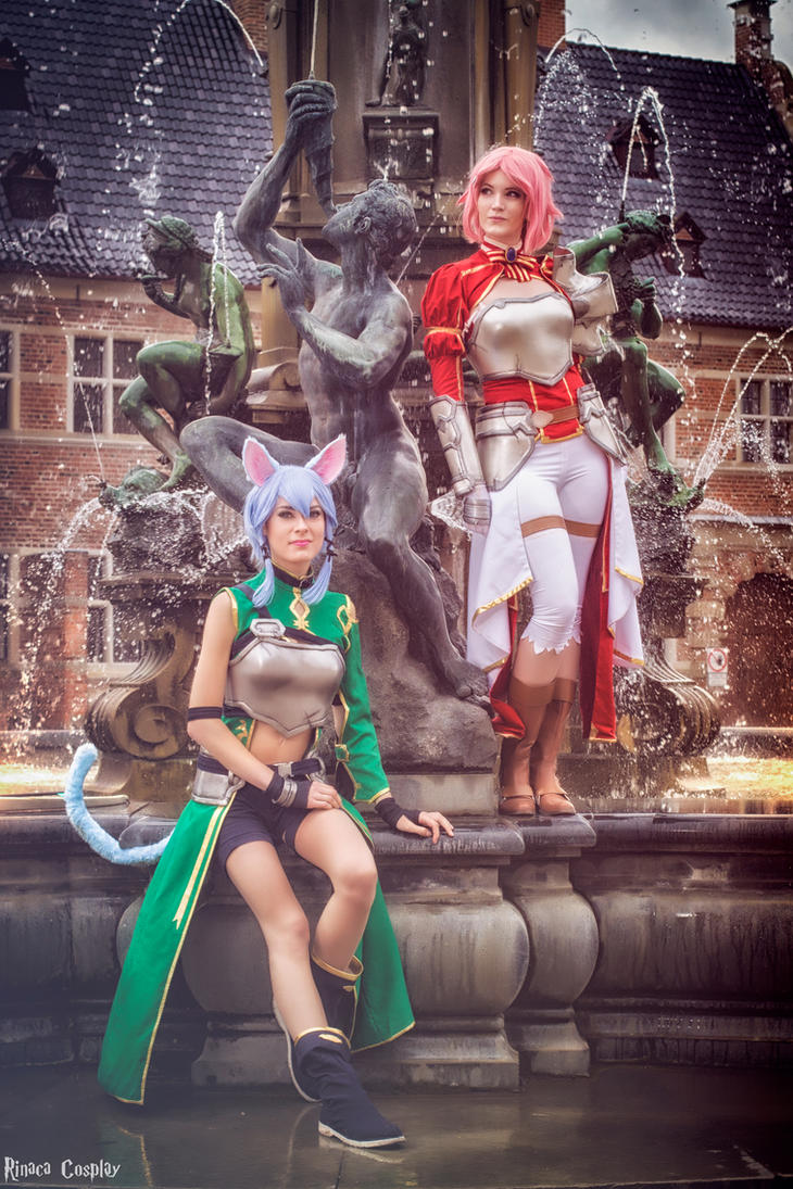 ALO Fountain by Rinaca-Cosplay