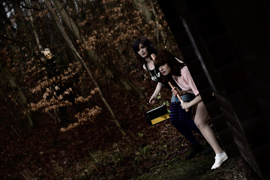 Working together by Rinaca-Cosplay