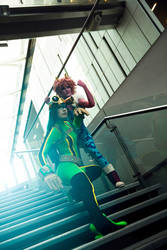 Heroes! Froppy and Pinky by Rinaca-Cosplay