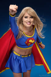 Never fear, Supergirl is here