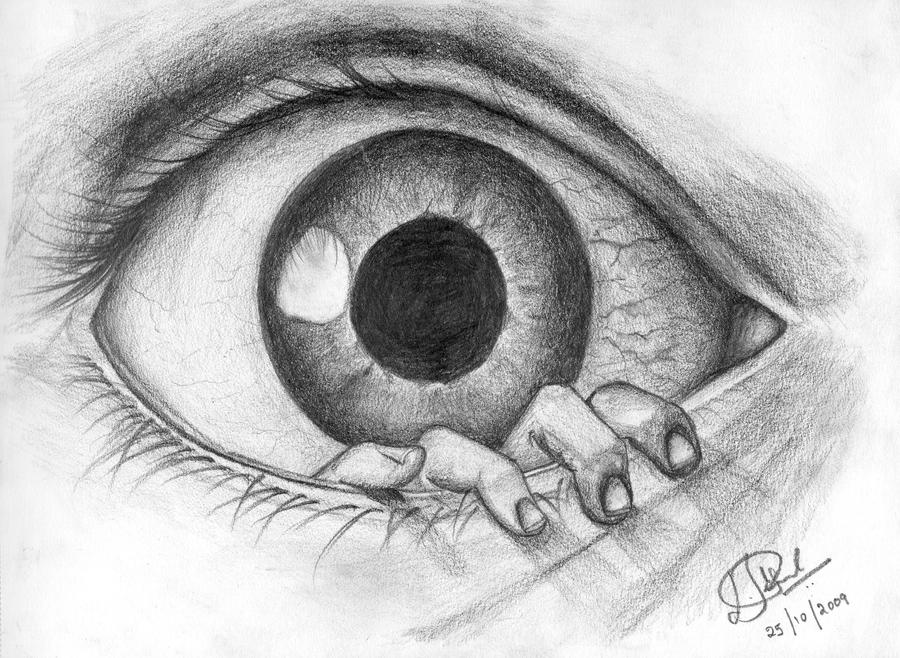 easy creepy pencil drawings - photo #26