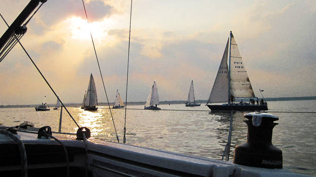 Sails Upon the Sunset