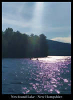 Kayakers on Newfound Lake