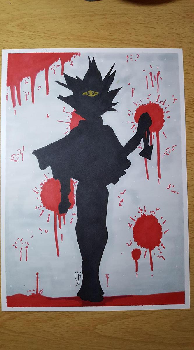 Atem the Bloody by Adi-Arty