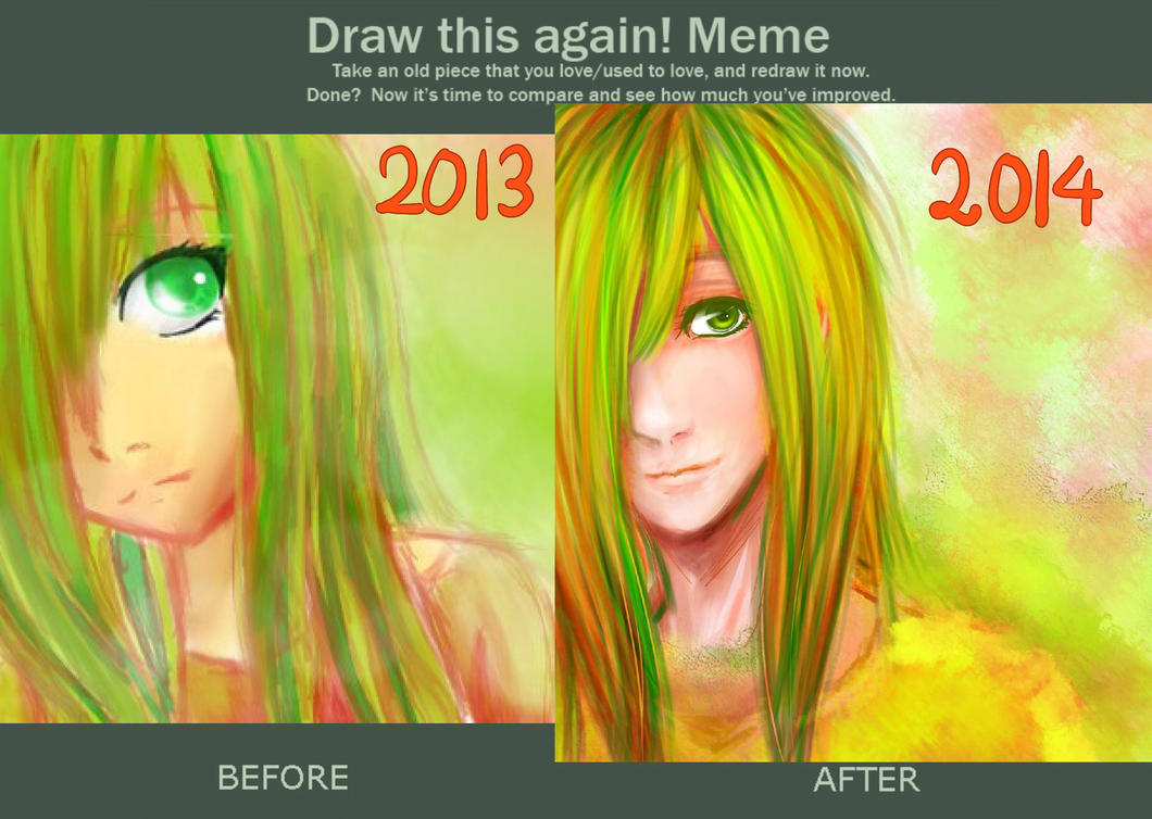 Before and After by AwesomeHikari