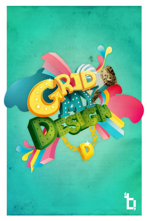 Grid My Design by brutartista