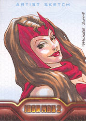 Iron Man 2: scarlet witch by gmckee