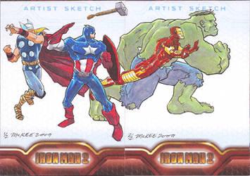 Iron Man 2: Avengers by gmckee