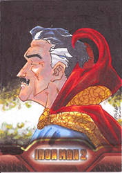 Iron Man 2: Dr. Strange by gmckee