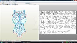 Skyrim Daedric Female Torso Download