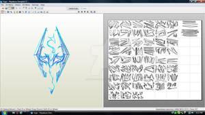 Skyrim Logo Download