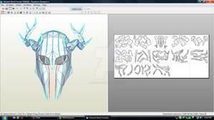 Skyrim Ancient Female Nordic Helmet Download