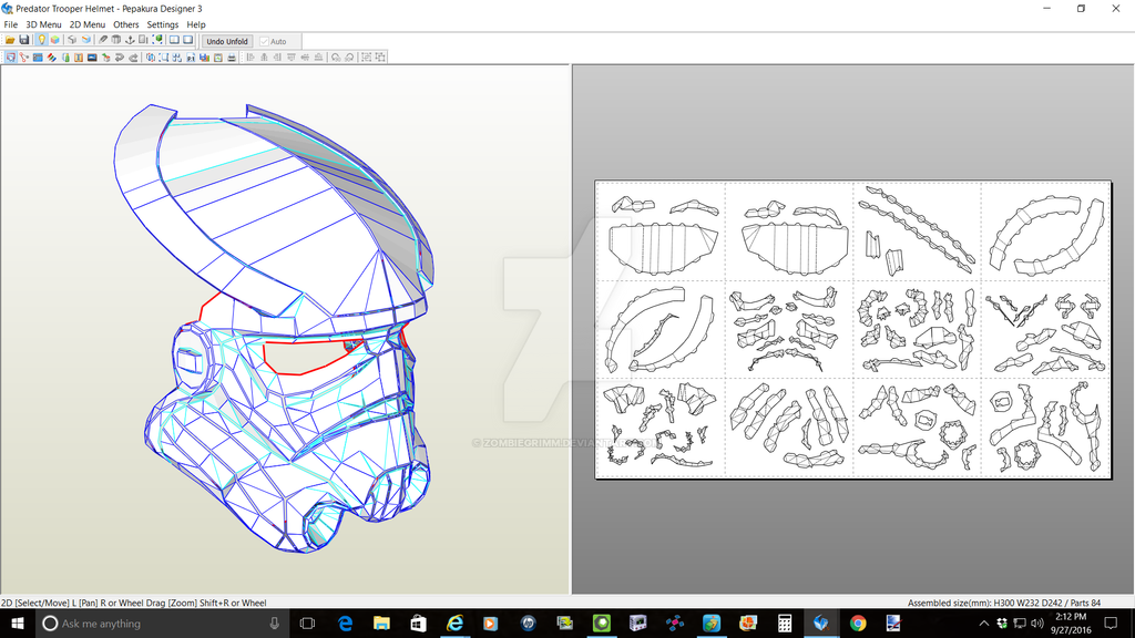 Stormtrooper Predator Mask by ZombieGrimm
