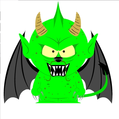 Halloween Qujin in South Park: Green Dragon by Qujin on DeviantArt