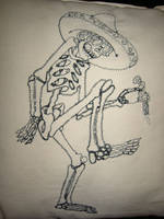 Mexican Skeleton by sacredstitches