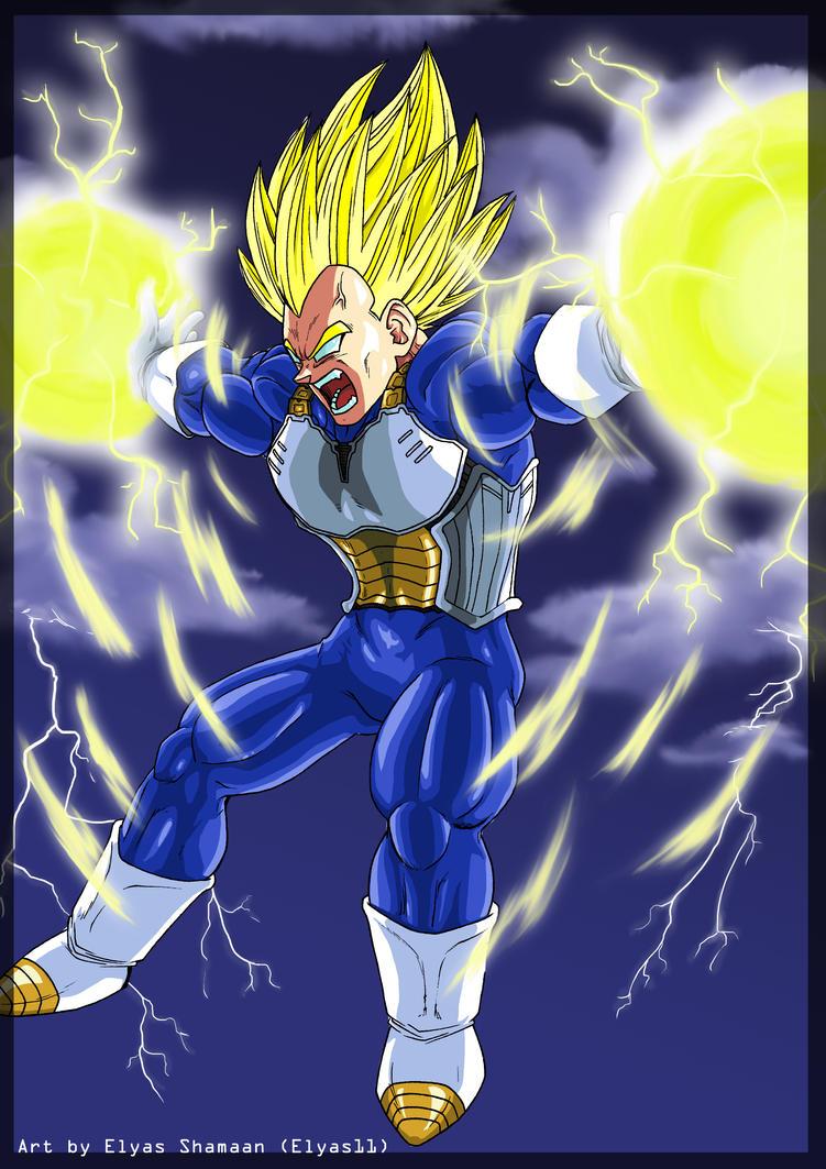 Super Vegeta Final Flash Wallpaper Dragon Ball Z Super Ve...