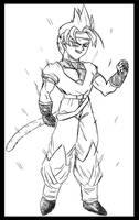 Free Sketch 3: Brull by ElyasArts