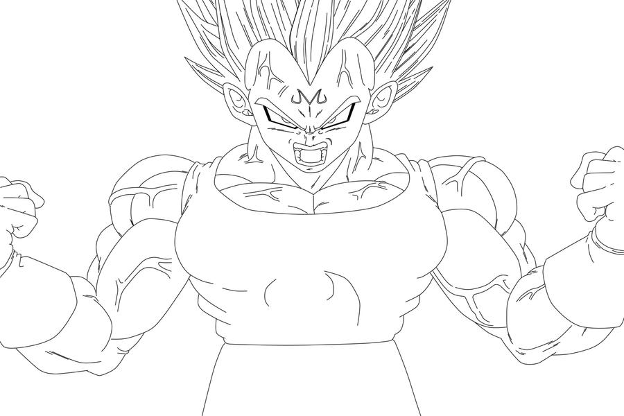 Vegeta Coloring Pages - Democraciaejustica