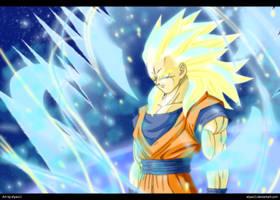 Super Saiyan God 2 by ElyasArts