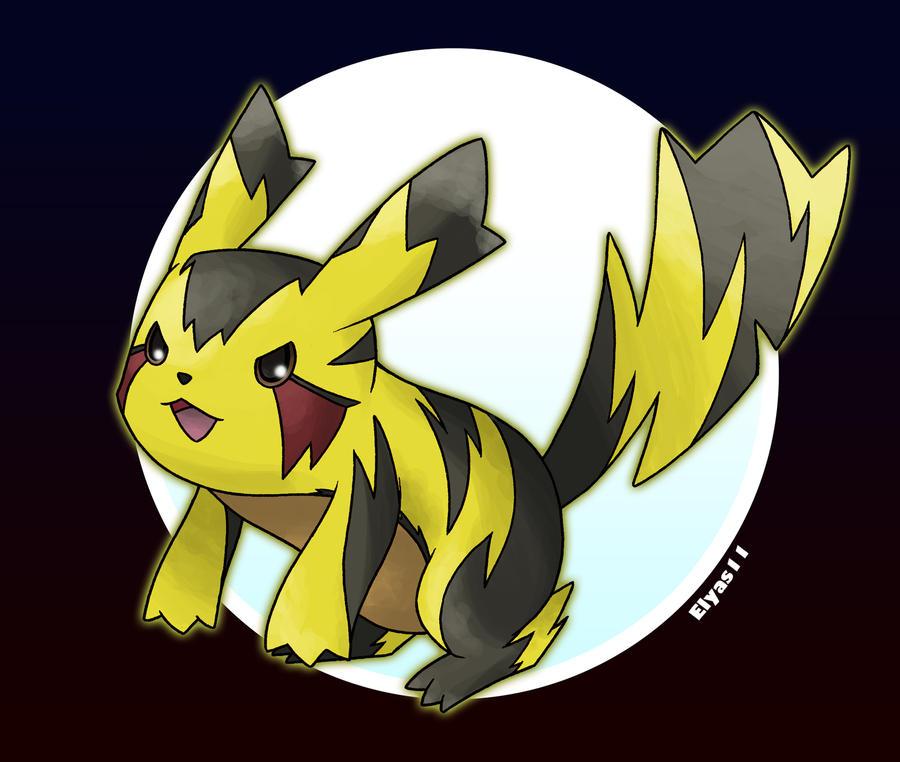 Mega Pikachu by ElyasArts